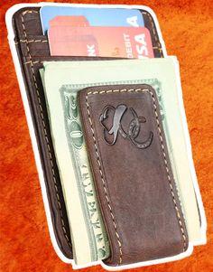 c71b62e948cd Mens Front Pocket Wallet with Money Clip by Urban Cowboy - 100% GENIUNE  LEATHER -. Urban Cowboy Apparel