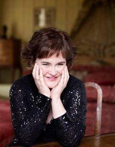 Susan Boyle Makeover Photos - Harper's BAZAAR