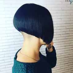 Stacked Bob Hairstyles, Short Pixie Haircuts, Bun Hairstyles, Short Hair Cuts, Short Hair Styles, Bob Haircuts, Short Stacked Bobs, Short Bobs, Undercut Bob