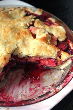 Appleberry Pie with Olive Oil Crust   Kitchen Grrrls
