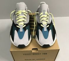 d99bc1ab1 Adidas Yeezy Boost 700 Wave Runner Size 10 100% authentic New with original  box