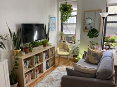 Name: Emily ForgioneLocation: Crown Heights — Brooklyn, New YorkType of home: Studio apartmentSize: 235 square feetYears lived in: 1 year, renting Tell us a little (or a lot) about your home and the people who live there: I live by myself in this cute and cozy studio in Crown Heights, Brooklyn. I love this vibrant neighborhood and having Prospect Park and lots of friends nearby. I didn't think I could afford to live alone in this area, and was preparing for my fifth (!