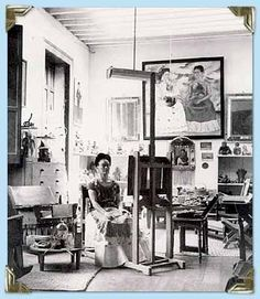 studio...Frida Kahlo