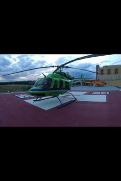 St Anthony Hospital home of Flight For Life.  Airlife on our pad