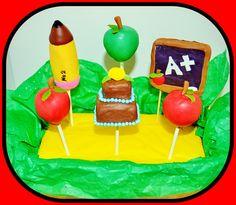 Teacher cake pops by I'll cake that!