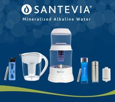 Restore your body's natural pH level with the alkaline water filter system. Santevia offers the best alkaline filter pitchers & bottles in the market.
