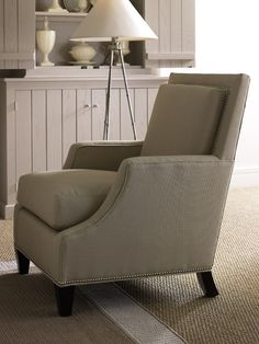 The Sloane Chair. Inspired by 1920s luxury liners salon furniture.