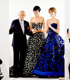 """Oscar de la Renta, famous Dominican-born designer has died at age 82. The news of his passing come after de la Renta had appointed Peter Copping as the Creative Director of the brand just a week ago. De la Renta had been battling cancer for a while, however, the official cause of death has not been released. (x) """"Now is the most exciting time in fashion. Women are controlling their destiny now, the consumer is more knowledgeable, and I have to be better every single day."""""""