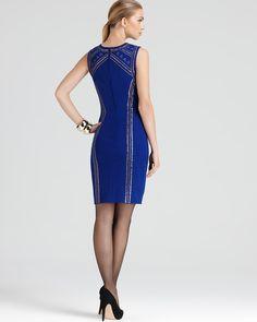 Cynthia Steffe Dress - Aundrea Studded Ponte