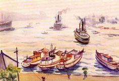 倪蔣懷,基隆港口