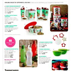 Specials you can shop at Gonzalesyes.my.tupperware.com