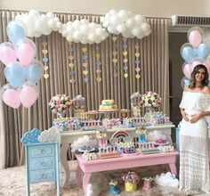 Baby Shower Temas Flores 23 Ideas For 2019 Idee Baby Shower, Shower Bebe, Baby Boy Shower, Shower Party, Baby Shower Parties, Baby Shower Themes, Shower Ideas, Birthday Party Decorations, Birthday Parties