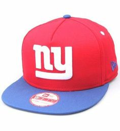 NFL New York Giants 9Fifty Turnover Snapback Two-Tone Cap, Red/Blue by New Era, http://www.amazon.com/dp/B00845N5GO/ref=cm_sw_r_pi_dp_3t-grb1PXNS25