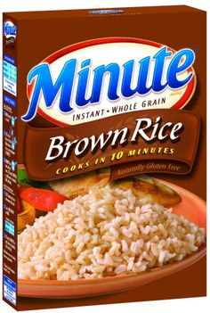 parboiled whole grain brown rice. In just 10 minutes, our Brown Rice ...
