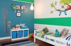Hochwertig Farbgestaltung Der Wände Im Kinderzimmer U2013 20 Originelle Ideen # Farbgestaltung #ideen #kinderzimmer #