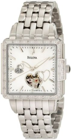 Bulova Women's 96R155 Diamond Mechanical Watch Bulova http://www.amazon.com/dp/B0073B5R84/ref=cm_sw_r_pi_dp_nT-Ztb1NFABQ2VD6