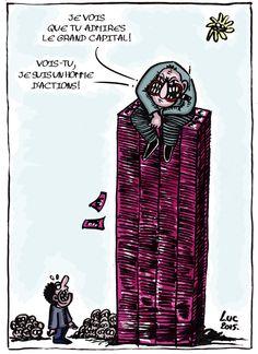 #capitalisme #actions #financiers #delinquantsencolblanc #cupides #sansscrupules #nofutur