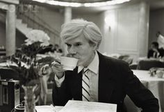 Andy Warhol (1928-1987) coffee break http://www.nohacoffee.com/