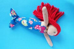 Check out this item in my Etsy shop https://www.etsy.com/ca/listing/256728454/sock-doll-mermaid-rag-doll-cloth-doll