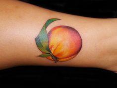 Cecilia @ Seventh Son Tattoo in San Francisco, Ca See Tattoo, Tattoo For Son, Body Art Tattoos, Small Tattoos, Cool Tattoos, Peach Tattoo, Gorgeous Tattoos, Body Mods, Tattoo Inspiration