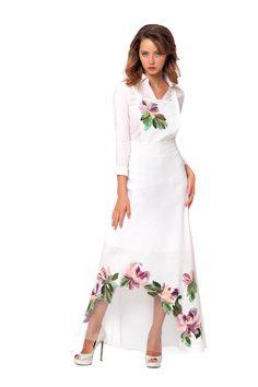 """Юбка - сарафан """"Карина"""" - Юкостайл. Магазин дизайнерской одежды оптом и в розницу."""