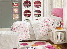 decoración rosa dormitorio adolescente