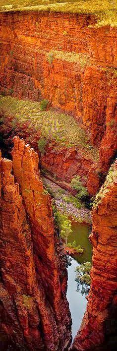 Karijini National Park, Western Australia. | See More Pics:
