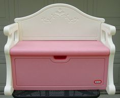 victorian little tikes toy bench - We have this, Roxy uses it to look outside in her puppy daycare.