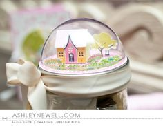 Housewarming Jar Topper by Ashley Cannon Newell for Papertrey Ink (January 2016)