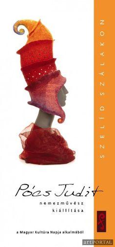 felted hat by Judith Pocs - inspiration. Felt Diy, Felt Crafts, Wet Felting, Needle Felting, Felting Tutorials, Knit Fashion, Hat Making, Wearable Art, Fiber Art