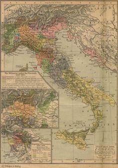 Historical Map of Florance (firenze) #TuscanyAgriturismoGiratola
