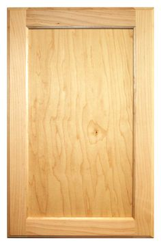 Cabinet Door World - Flat Panel Door - Paint Grade Maple, $0.01 (http://www.cabinetdoorworld.com/flat-panel-door-paint-grade-maple/)