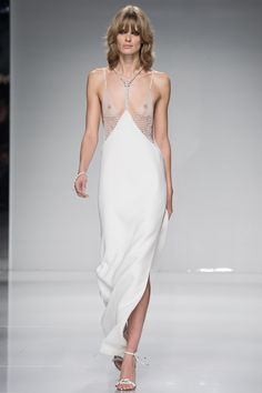 Atelier Versace Spring 2016 Couture Fashion Show - Julia Stegner