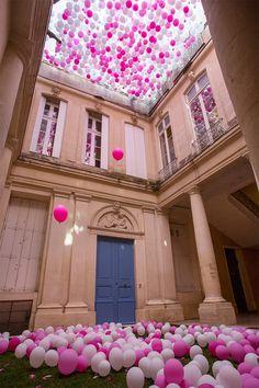 'un dixieme printemps' installation | Montpellier, France