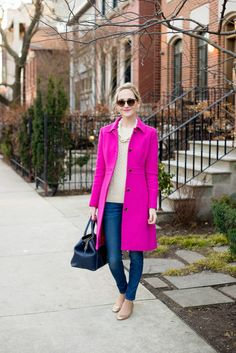 J.Crew Lady Day Coat   Kelly in the City