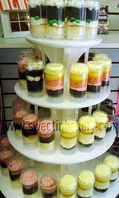 Cupcake Push Pops by Sweet Indulgence Bakery, via Flickr