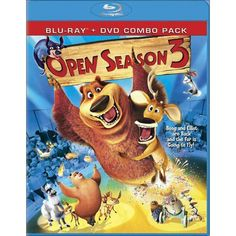Shop Open Season 3 Discs] [Blu-ray/DVD] at Best Buy. Find low everyday prices and buy online for delivery or in-store pick-up. Kid Movies, Cartoon Movies, Disney Movies, Children Movies, 3 Movie, Watch Movies, Watch Cartoons, Free Cartoons, Open Season