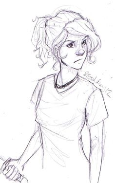 Annabeth Chase, daughter of Athena. AKA, Wise Girl :)