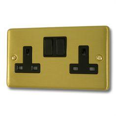 Satin Brass Socket from Socket Store £7.12