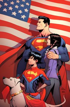 #ActionComics1000 #Superman #LoisLane #Superboy #Krypto by Patrick Gleason