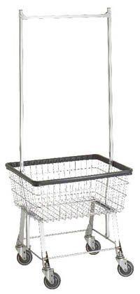 96B58 R&B Wire Economy Laundry Cart w/ Double Pole Rack, http://www.amazon.com/dp/B00HRUDW06/ref=cm_sw_r_pi_awdm_K5bYub0D6YNZM