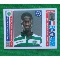 Football Soccer Sticker Panini UEFA Champions League 2014 #528 Sporting Clube