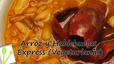 Arroz con Habichuelas Express (Veganas) - Muchas Recetas de Cocina