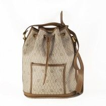 Christian Dior Drawstring i beige canvas