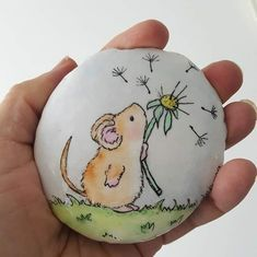Rock Painting Patterns, Rock Painting Ideas Easy, Rock Painting Designs, Paint Designs, Painted Rock Animals, Painted Rocks Craft, Hand Painted Rocks, Stone Art Painting, Pebble Painting