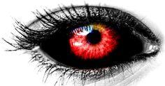 Free Image on Pixabay - Eye, Black, Reds, Female, Red Color Scary Eyes, Cool Eyes, Vampire Eyes, Demon Eyes, Eyes Artwork, Evil Demons, Aesthetic Eyes, Arte Obscura, Eyes Problems