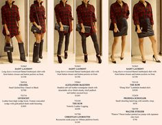 How to Wear it Wednesday!!!  Saint Laurent Leather Flannel Shirt! #fashion #Saint Laurent
