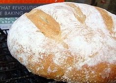gluten free artisan bread: 2 cups brown rice flour 1 1/2 cups sorghum flour 3 cups tapioca flour 2 tablespoons yeast 1 tablespoon kosher salt (increase or decrease to taste) 2 tablespoons xanthan gum 2 2/3 cups lukewarm water 4 large eggs, whisked together 1/3 cup neutral-flavored oil or 1/3 cup olive oil 2 tablespoons honey, corn syrup or sugar