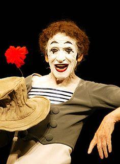 Marcel Marceau as Bip the Clown