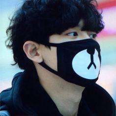 Kpop EXO block b korean japanese trendy mouth mask bear